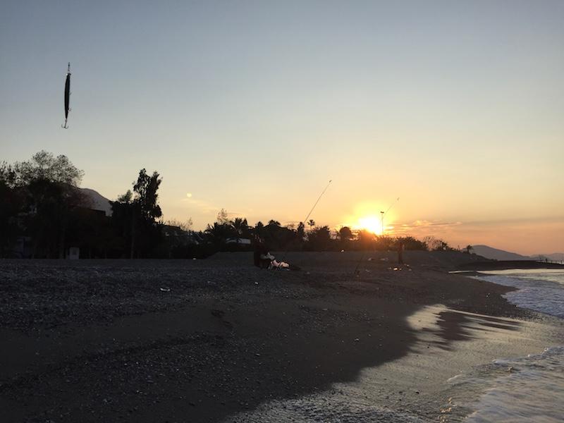 Güneş Doğumu ve Balık avI